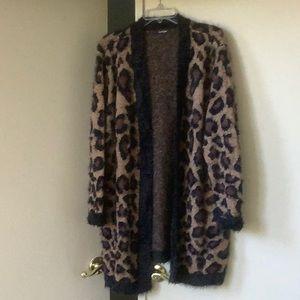 Leopard Print Sweater